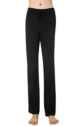 UMIPUBO Pantalones De Yoga para Mujer con Bolsillos Alta Cintura Elásticos Cordón...