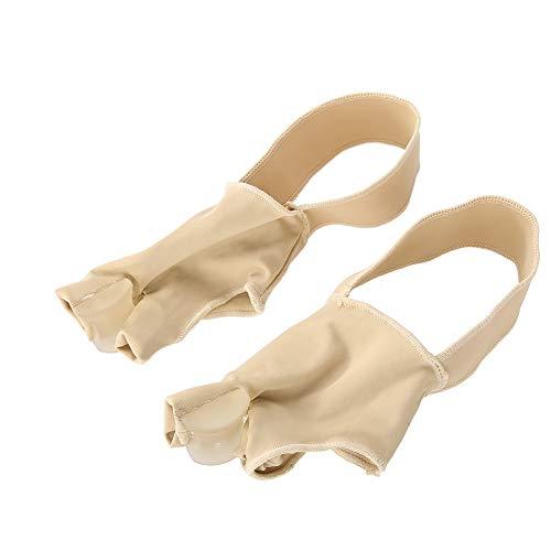 Ortesis para juanetes de pulgar, aparatos ortopédicos flexibles que absorben el sudor, mejoran el estrés del pulgar para corregir el hallux valgus alivia el(L (40-45 yards))