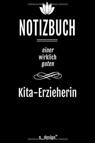 Notizbuch für Kita-Erzieher / Kita-Erzieherin: Originelle Geschenk-Idee [120 Seiten liniertes DIN A6 blanko Papier]