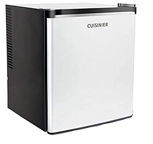 Cuisinier CR35A Minikühlschrank Kühlschrank klein 36 L / 49 cm, Bar Mini Kühlschrank Thermoelektrisch freistehend, Tischkühlschrank leiser Betrieb (max 39dBA), regelbares Thermostat, Hotel, Büro