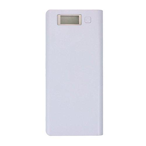 Power Bank pilas caja, 5 V 3 A USB doble de 18650 Energías de banco de batería de buzón de Cargador para iPhone 6 Plus S6: Amazon.es: Electrónica