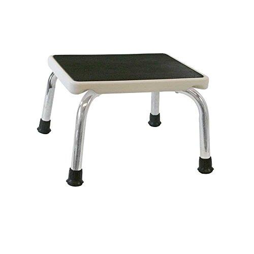 Behrend Trittstufe, Tritthocker, Fußtritt, Gummi-Oberfläche und -Füße, Stahl, bis 120 kg