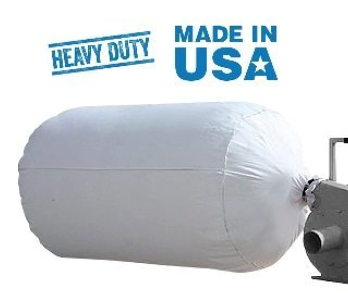 Midwest Filter Heavy Duty Insulation Removal Bags, 4x6, 75 Cubic Feet, Made in USA (3)