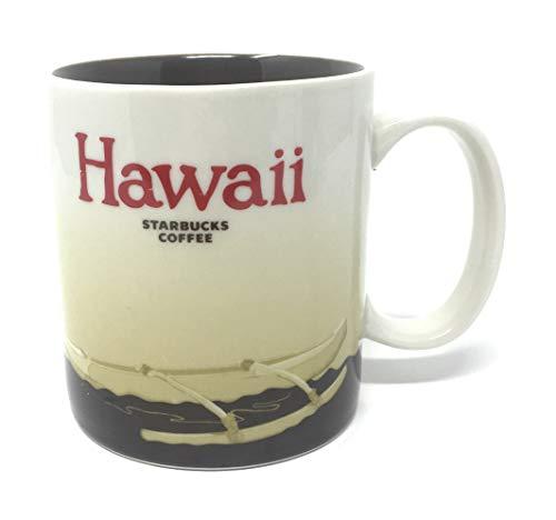 Starbucks Hawaii - Collector Coffee Mug with Native Canoe Design