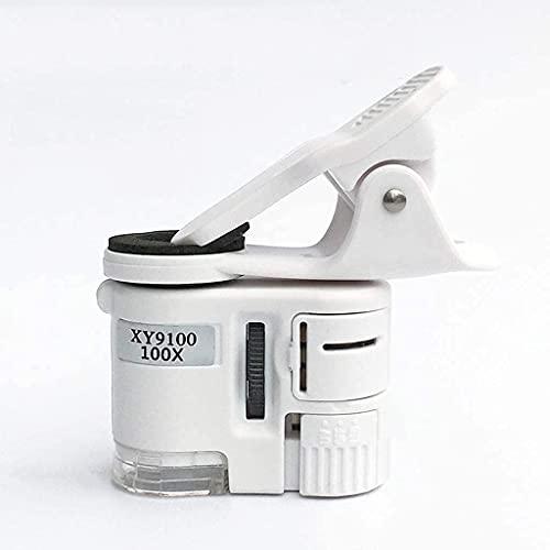 Oevina Boîte de Montre Table Cabinet Megger Rangement Glass 100 Fois Téléphone Mobile Microscope Haute DÉFINITION Portable 150 Bijoux Antiques Jade Identification 200 Fois