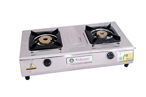 KITCHENMATE CLASSIC PNG 2 BURNER S S BODY GAS STOVE