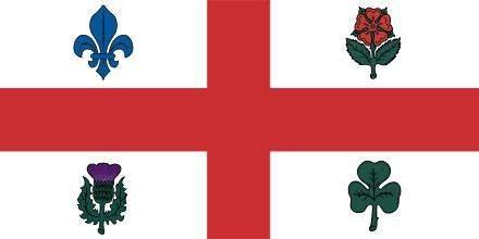 Montreal drapeau 90 x 150 cm