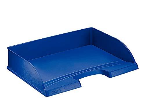 LEITZ 52180035 - Bandeja Plus STANDARD de acceso apaisado color azul
