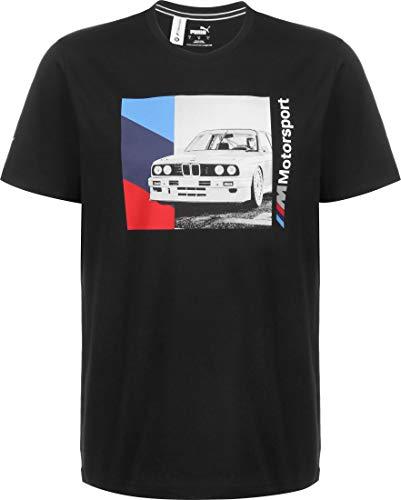 PUMA BMW MMS Graphic T-Shirt Black