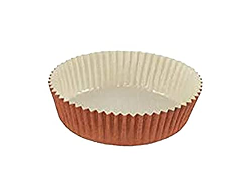 Optima Baking Mold, All Natural, Disposable, Recyclable, Microwave Oven Safe, Freezable, Best Paper Baking Mold for Baking Goods- Cup Cakes or Mini Snacks (3-1/2' x 1-1/4')