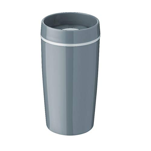 Stelton Rig-TIG by Bring-IT to-Go - Becher/Thermobecher - Kunststoff/Silikon - Grau - (HxD) 16,5 x 8,5cm / 34 l