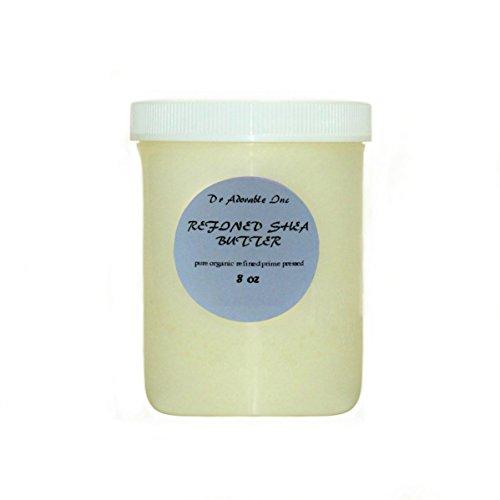 Refined Shea Butter Pure Raw 8 Oz