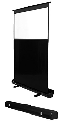 MULTIBRACKETS Leinwand transportabel 4:3 200x150cm 254cm 100Z Diagonale Weiss Rahmen schwarz leicht aufstellbar Gain:1,0
