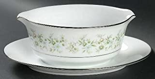 Noritake Savannah 2031 Gravy Boat with Attached Underplate