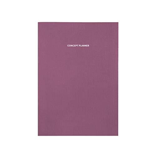 Poketo Concept Planer-Notizbuch, Pflaume