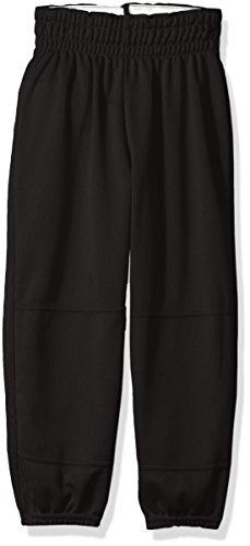 Wilson Youth Basic Classic Fit Baseball Pant, Black, Medium