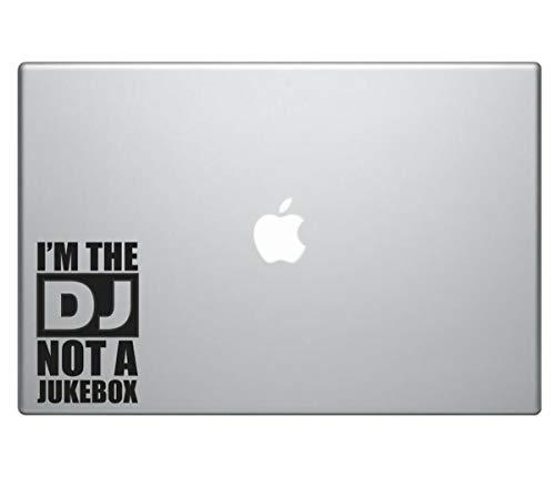 myrockshirt Im The DJ not a Jukebox MacBook Aufkleber Laptop Notebook Funny Lustig Aufkleber,Sticker,Decal,Autoaufkleber,UV&Waschanlagenfest,Profi-Qualität,Wandtattoo