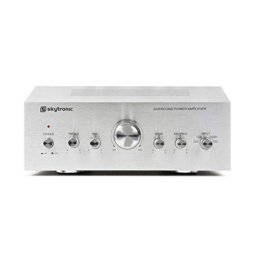 Modern Stereo Hifi Amplifier 2x50W DVD CD MP3 Player Aux Inputs Home Audio...