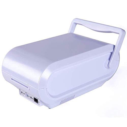 TUNBG Mini-Kühlschrank mit tragbarem Griff, elektrischem Kühler und Wärmer, Insulin-Kühlbox, Thermoelektrik-Kühlschrank für unterwegs für Auto und Zuhause