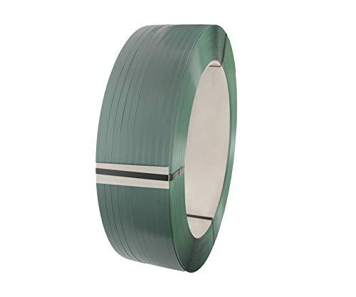 erka PET Umreifungsband | Breite 12,5mm, Dicke 0,6mm, Länge 2500m 406mm Kern, 2800N