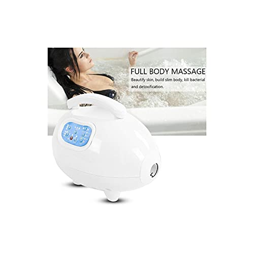 Electric Bathtub Bubble Massage Mat, Waterproof Tub Massaging Spa, Full Body Bubbling Bath Thermal Massager Machine With Air Hose, With Heat, With Remote Control(US)