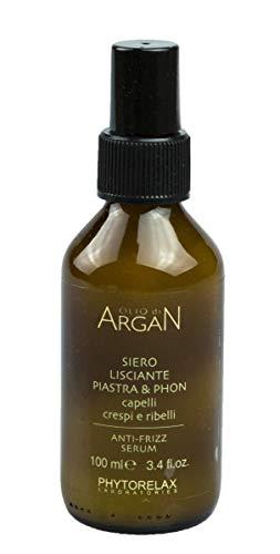PHYTORELAX Huile D'Argan Serum De Protection Lissage Plaque Seche & 100 Ml
