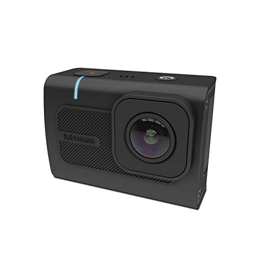 Kitvision Venture 4K Ultra HD Action Camera with WiFi LCD Display and Waterproof Case Black