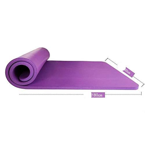 Whytd Anfänger Yogamatte Erwachsene rutschfeste Tanzmatte benutzerdefinierte Kindermatte Fitnessmatte verbreitert verdickt -15mm Anfänger