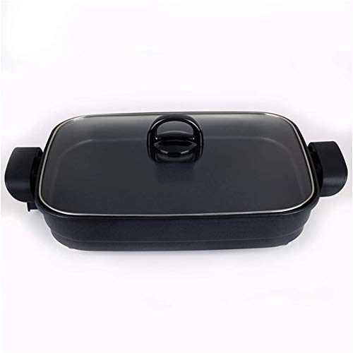 Máquina de cocinar Hot Hot Boot Portable Home, Sartén Eléctrico | 40...