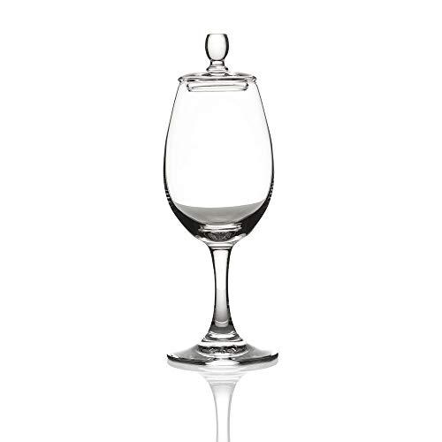 Eburya Glencairn Nosing Copita & Cap - Whisky Tasting Glas mit Deckel