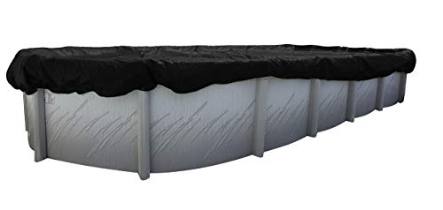 Buffalo Blizzard Deluxe Winter Cover for 16-Foot-by-24-Foot or 16-Foot-by-25-Foot Oval Above Ground...