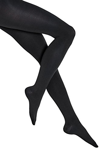 Wolford Damen Strumpfhosen (LW) Ind. 100 Leg Support Strumpfhosen, 10 DEN,black,X-Small (XS)