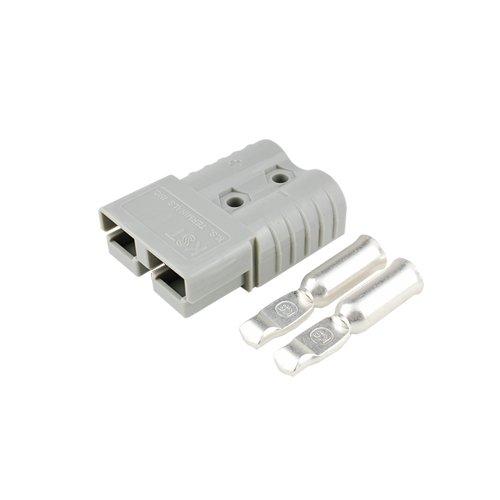 バッテリーコネクタ デュアルタイプ 80A 6AWG BMC2MS-14-E 2セット入 グレー