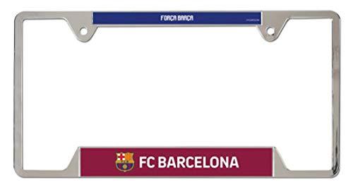 WinCraft Barcelona Football Club Metal License Plate Frame