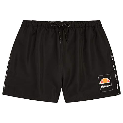 ellesse Badehose Herren Positano Swim Short Black Schwarz, Größe:M