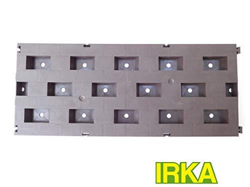 IRKA Beetplatten Zeltboden Gartenweg Campingboden Fußplatten 1 VPE 10 STK.