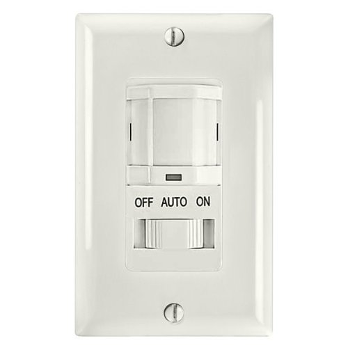Amazon.com: Intermatic IOS-DSIF-WH Motion Sensor, PIR Electronic Occupancy Sensor Switch - White: Home Improvement