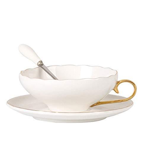 YWYW Taza de café o Taza de té Tazas de café del Norte de Europa y América Taza de té de la Tarde Juegos de Regalo Tazas de café novedosas