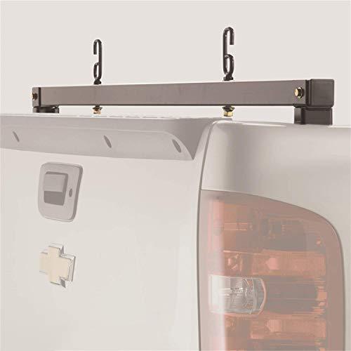 BACKRACK | 11523 | Truck Bed Headache Rack Rear Bar | Fits '17-'20 Ford Superduty Aluminum Body | '15-'20 Ford F-150 Aluminum Body, Black