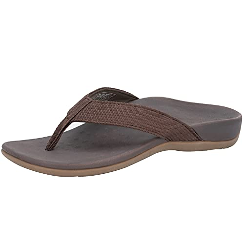 IRSOE Plantar Fasciitis Women's Sandals Orthotic Arch Support Flip Flops for Heel Pain, Flat Feet, Exercise Recovery Thong Toe-post Sandal