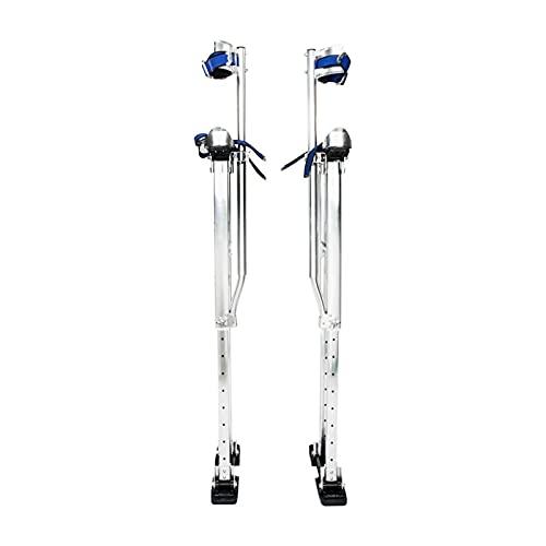 BHJKL Professional Grade Adjustable Drywall Stilts Taping Paint Stilt Aluminum - 24