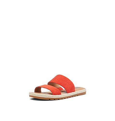 Sorel Ella II Slide Sandals for Women - Signal Red - Size 9
