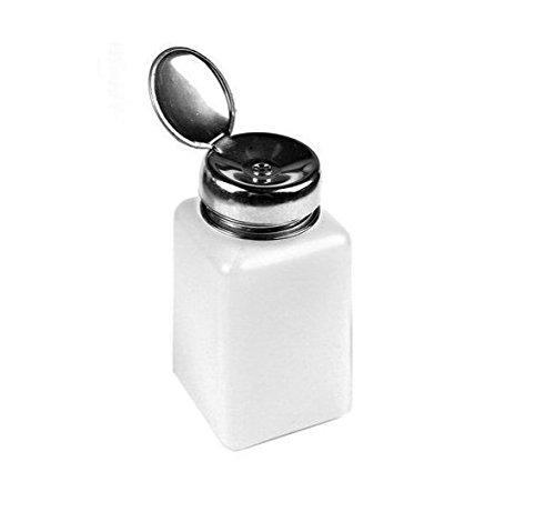 Newin Star Flacon de 200 ml vide transparent avec pompe pour dissolvant, vernis à ongles
