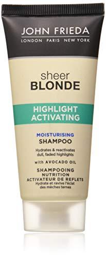 John Frieda Sheer Blonde Highlight Aktivierung Feuchtigkeitsspendende Shampoo, 50ml
