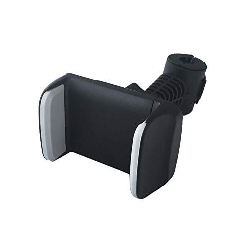 USNASLM 360 ° Girar coche teléfono titular coche asiento trasero soporte para coche almohada teléfono móvil titular tableta soporte asiento trasero reposacabezas
