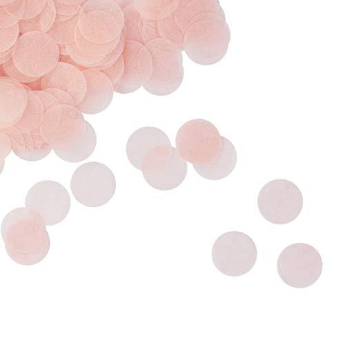 Oblique Unique® Papier Konfetti Rosa Tisch Streu Deko für Geburtstag Party Hochzeit Feier JGA Junggesellinnenabschied