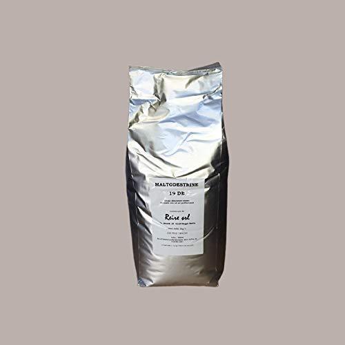 LUCGEL Srl 5 Kg Maltodestrine 19 D.E. Confezione Sciroppo Glucosio Polvere Amido Mais Maltodextrin destinato solo ad USI PROFESSIONALI