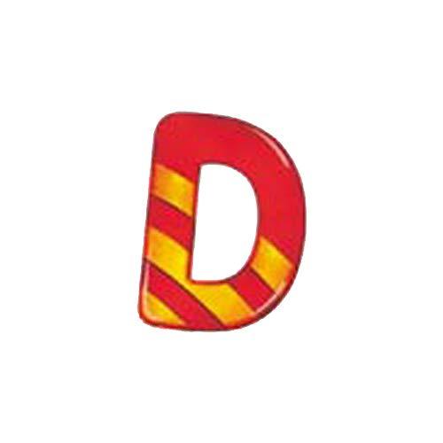 Selecta 60904 Alphabet D Jouet en Bois pour Chambre d'enfant Motif Lettres de l'alphabet 8 cm