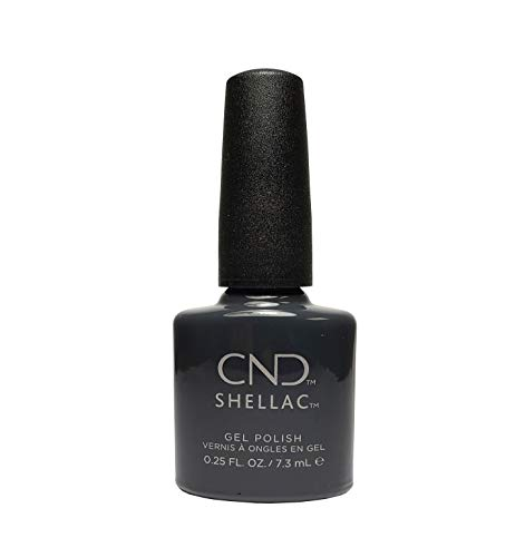 CND Shellac Vernis à ongles en gel UV soak off de choisir parmi 89 couleurs Inc Toutes les collections et la nouvelle collection Garden Muse (allthingsbountiful) (asphalte)