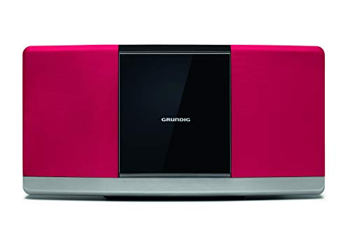 Grundig WMS 3000 BT DAB+ Red